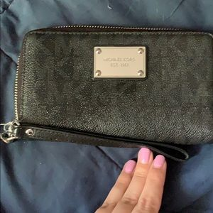 Black Michael Kors clutch